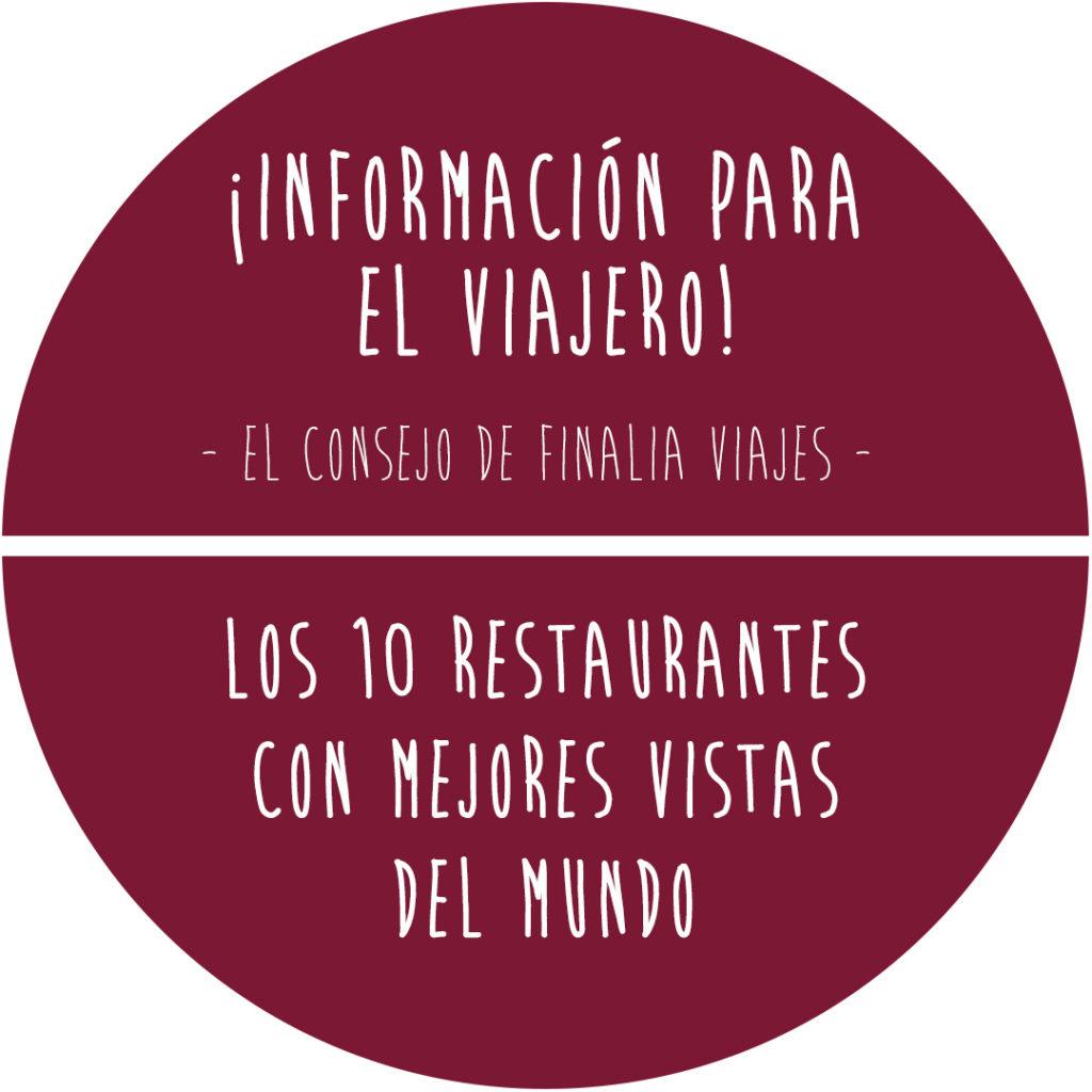 10 restaurantes - Finalia Viajes